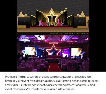 Event Conceptualization & Design