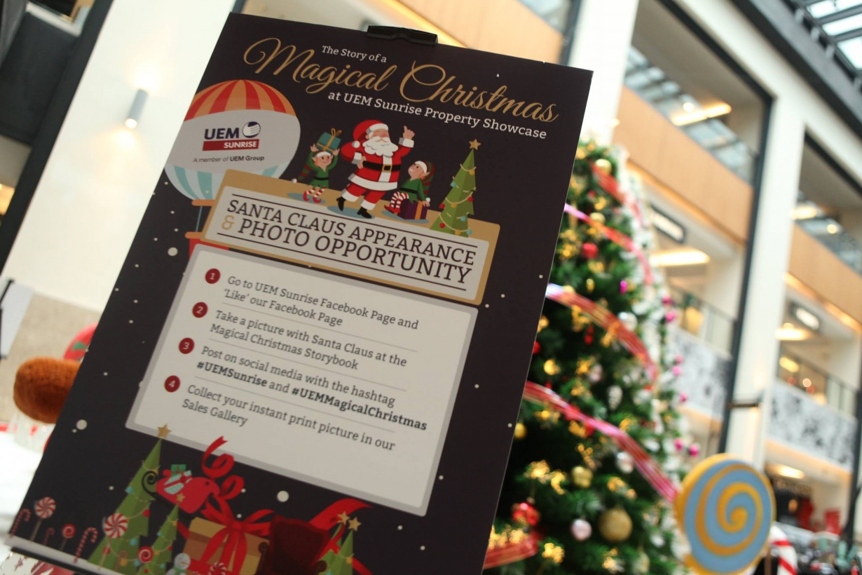 The Story Of A Magical Christmas At Uem Sunrise Property Showcase